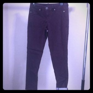 Maurices Deep Purple Jeggings